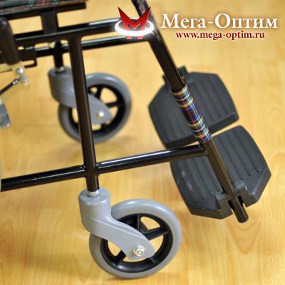 Инвалидная коляска стальная FS 809B-41 (46)