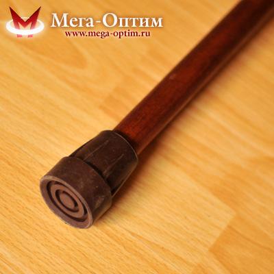 Деревянная трость с пластмассовой ручкой ИПР