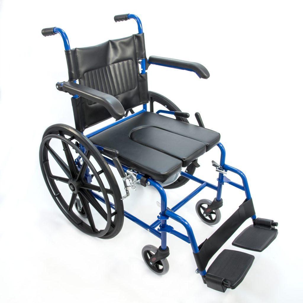 Кресло-стул с санитарным оснащением активного типа HMP 7014 KD