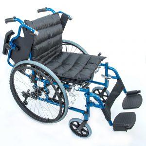 Инвалидная кресло-коляска алюминиевая FS 959 LQ-48