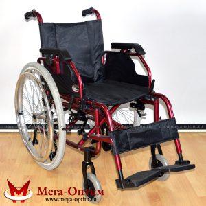 Инвалидная кресло-коляска алюминиевая FS 957 LQ-41 (46)