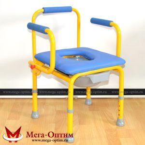 Стул-кресло с санитарным оснащением FS 813 (размер S)