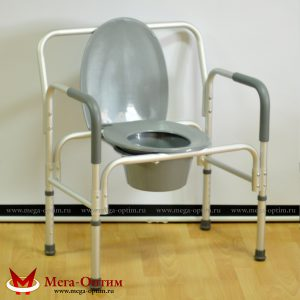 Кресло-стул с санитарным оснащением повышенной грузоподъемности HMP-7007 L