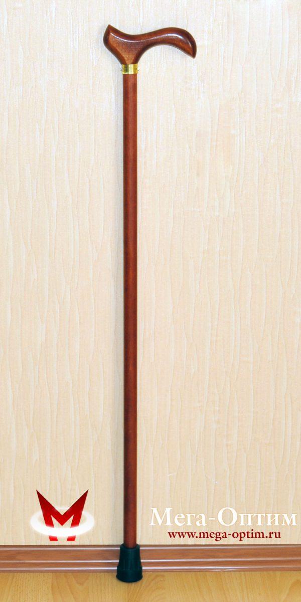 Деревянная трость с деревянной ручкой ДР-А