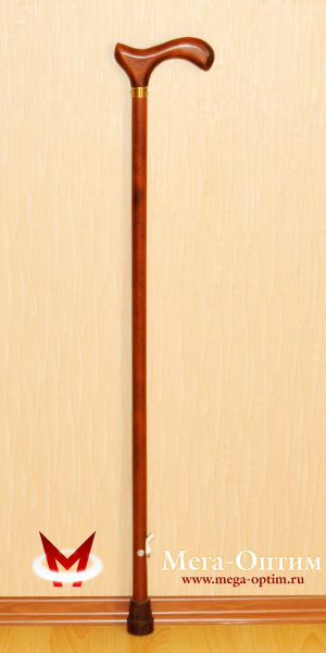 Деревянная трость с деревянной ручкой ДР-Ш